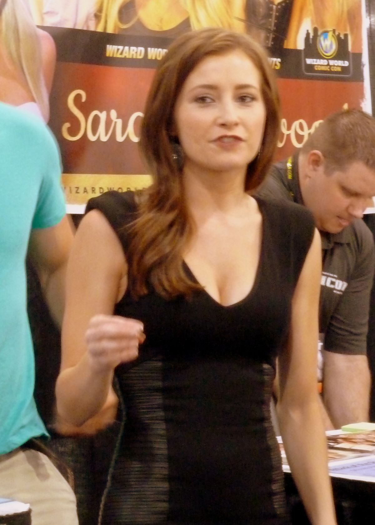 Candace Bailey And Sara Jean Underwood At The Philadelphia Comic Con