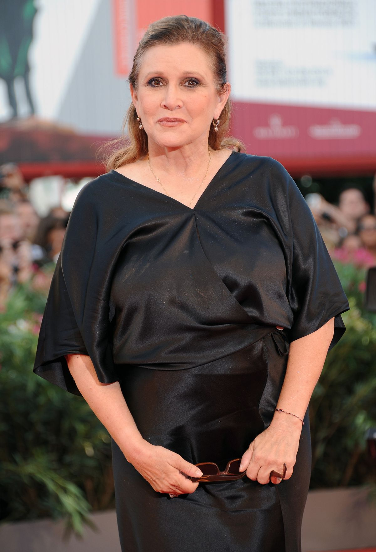 Carrie Fisher At Gravity Premiere And Opening Ceremony In Italy