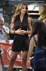 Charisma Carpenter On The Set Of Extra In LA