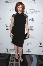 Christina Hendricks At Pre-Emmy Awards Peer Group Cocktail Reception In Universal City