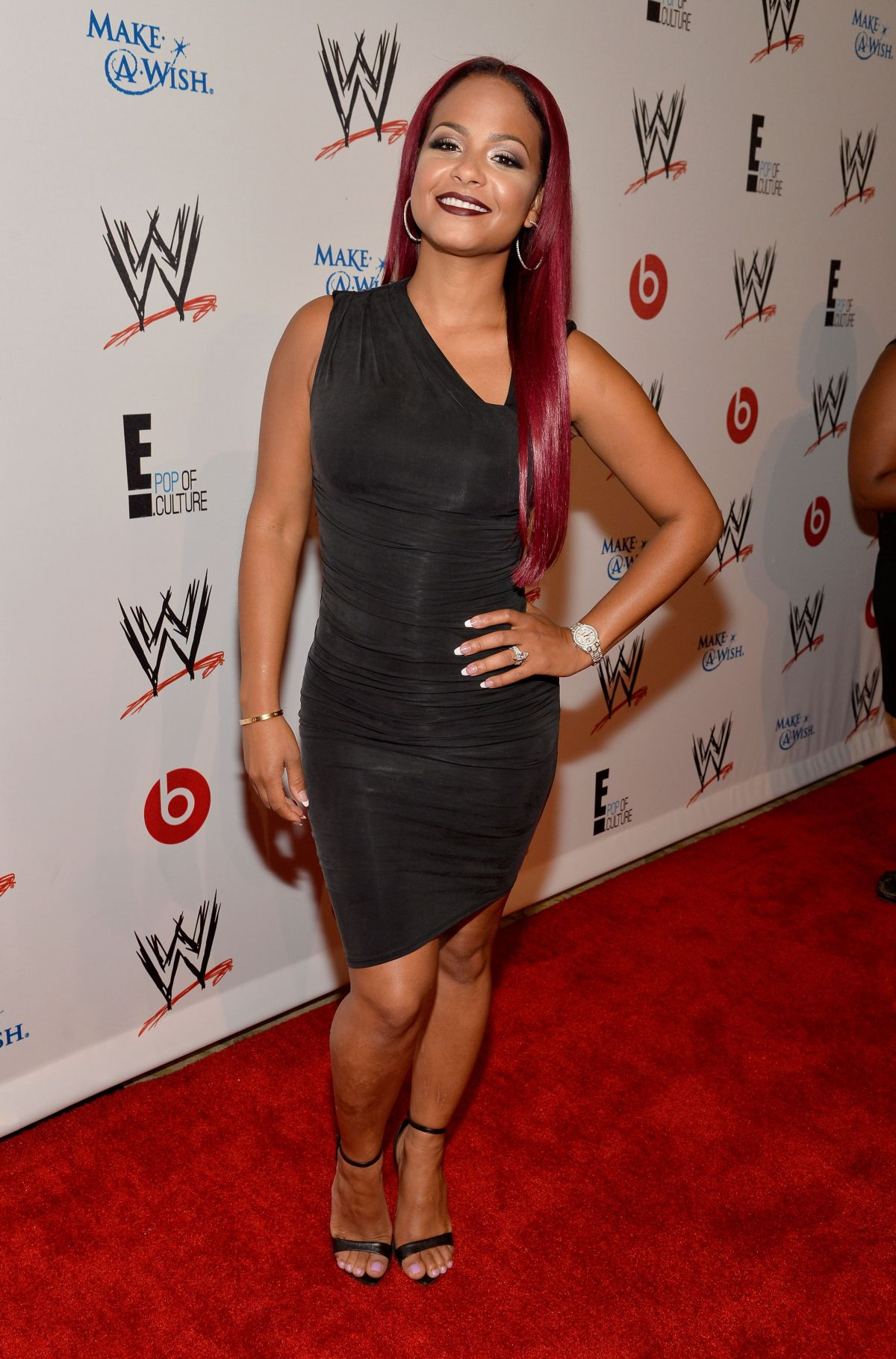 Cristina Milian At WWE And E! Superstars For Hope Event In Beverly Hills