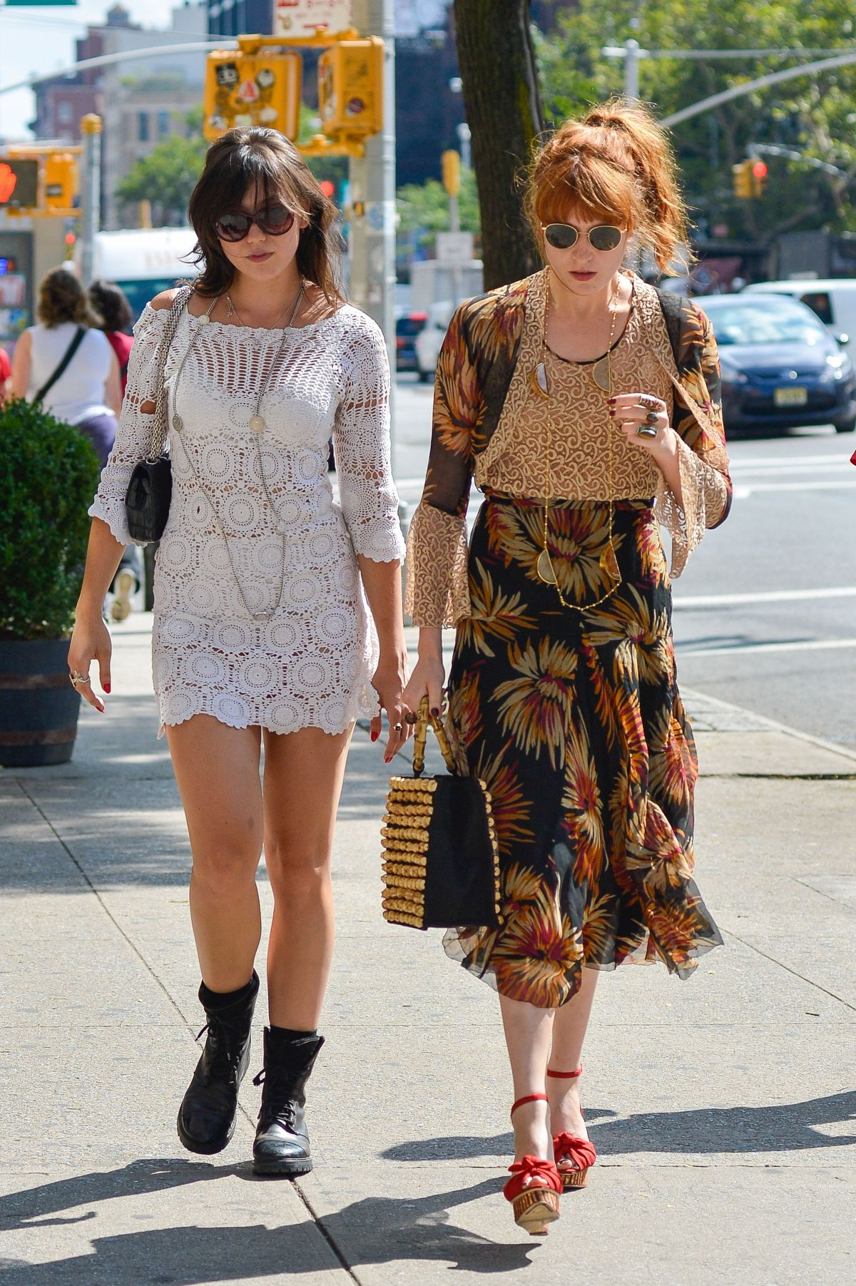 Daisy Lowe Seen Out In Hollywood
