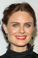 Emily Deschanel At Party In West Hollywood