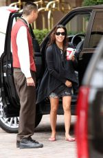 Eva Longoria Gets Some Coffee In LA