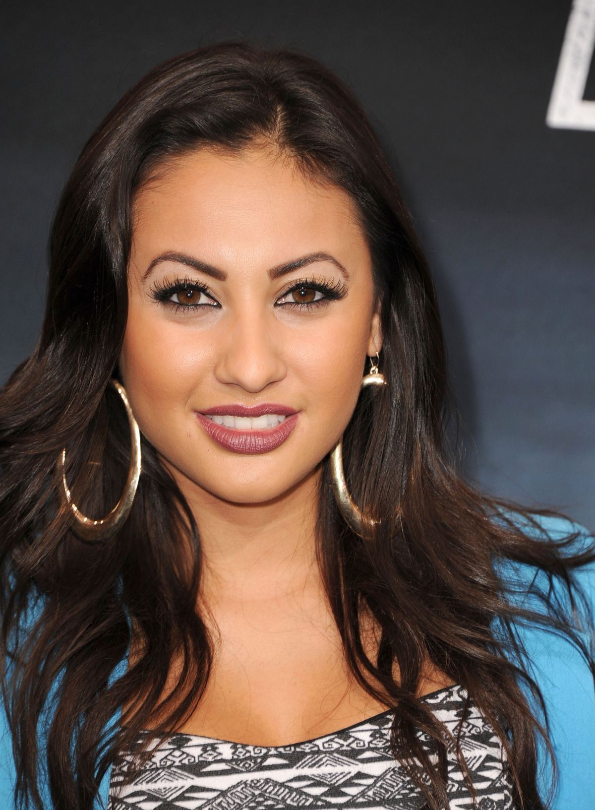 Francia Raisa At The Getaway Premiere In LA