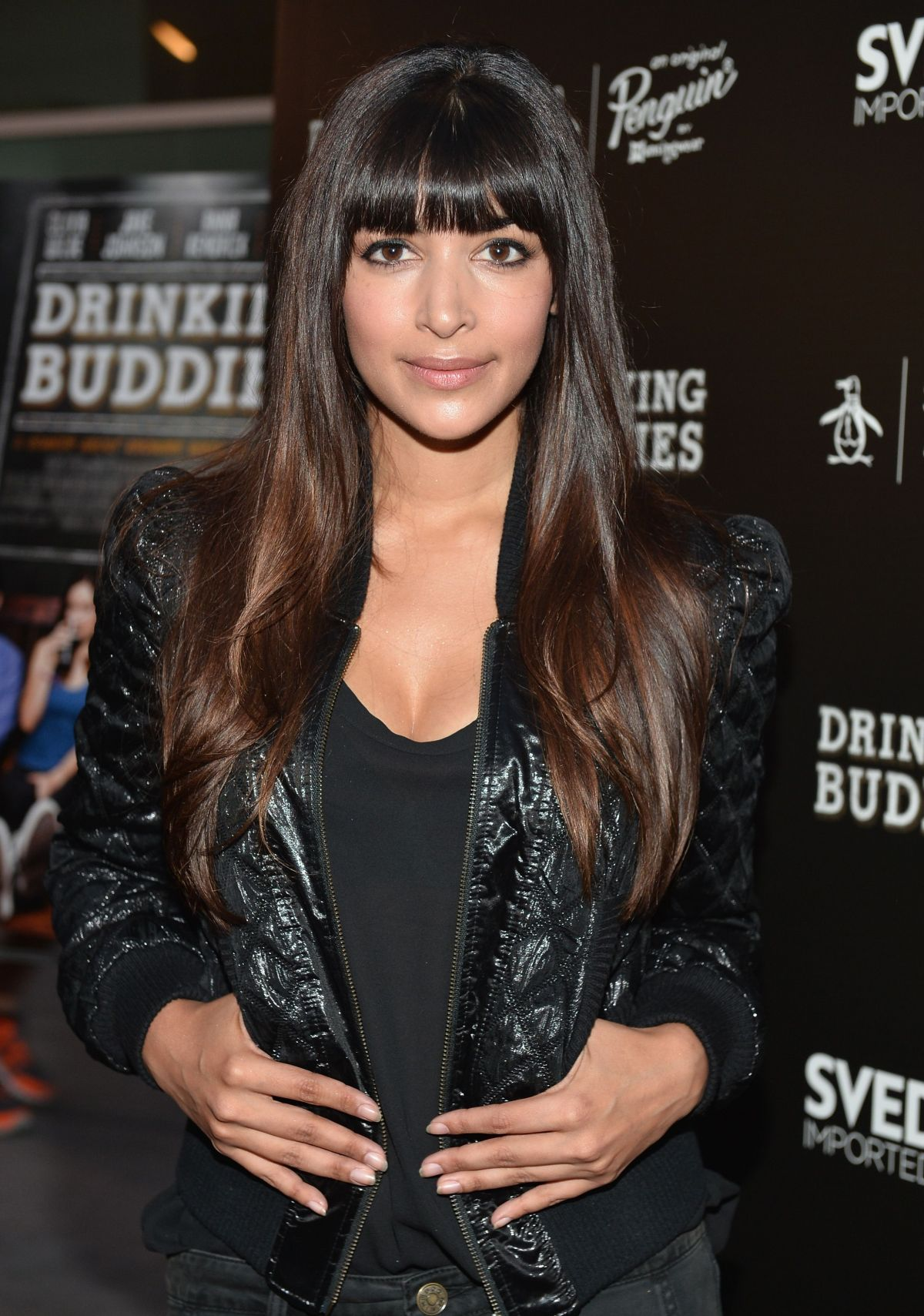 Hannah Simone At The Drinking Buddies Screening In hollywood