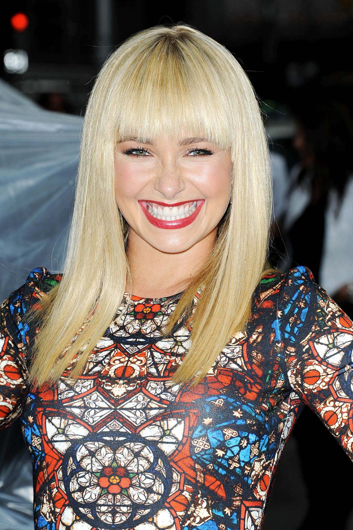 Hayden Panettiere At The Late Show With David Letterman