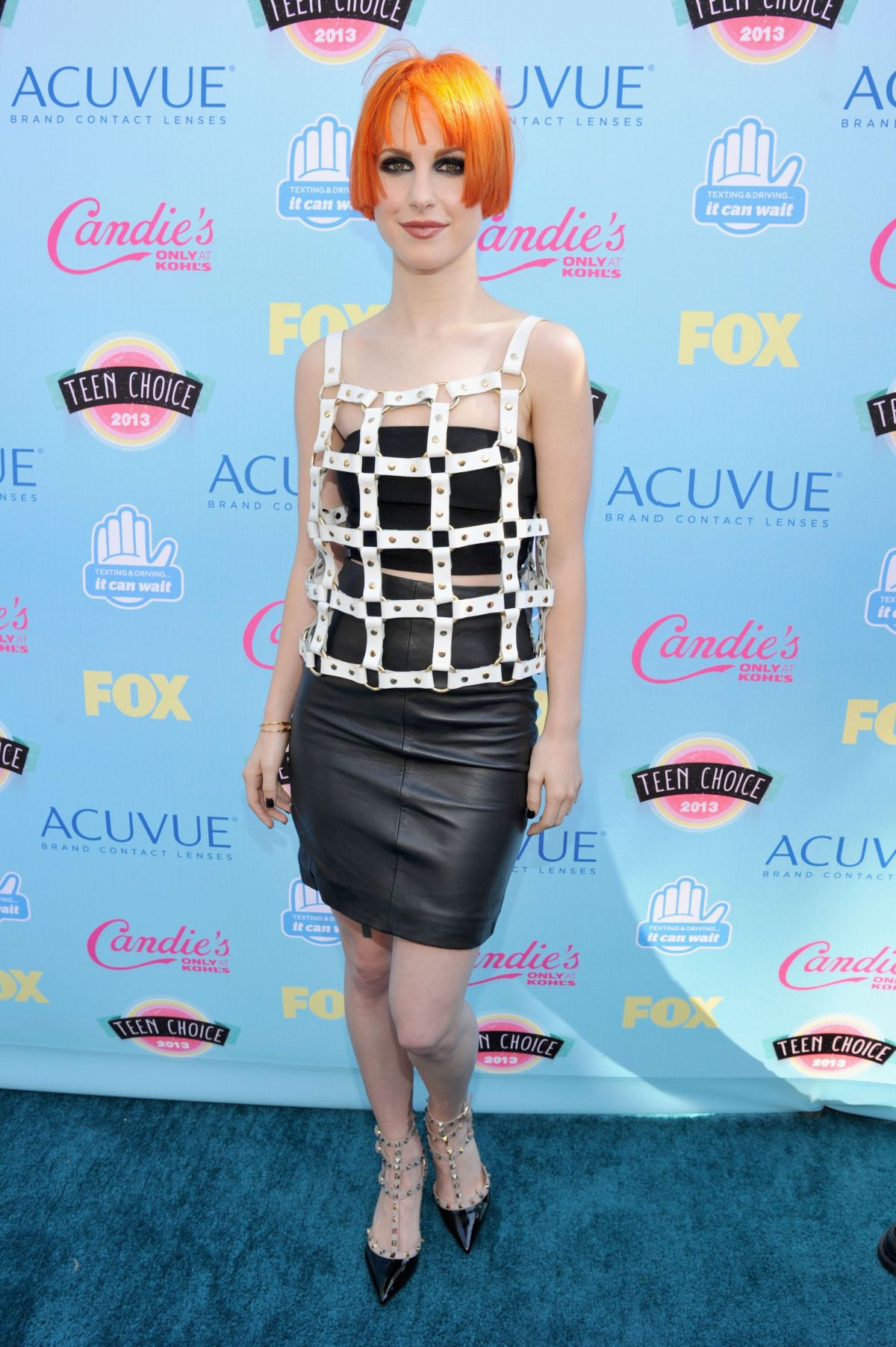 Hayley Williams At Teen Choice Awards In Universal City