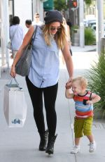 Hilary Duff Out In LA