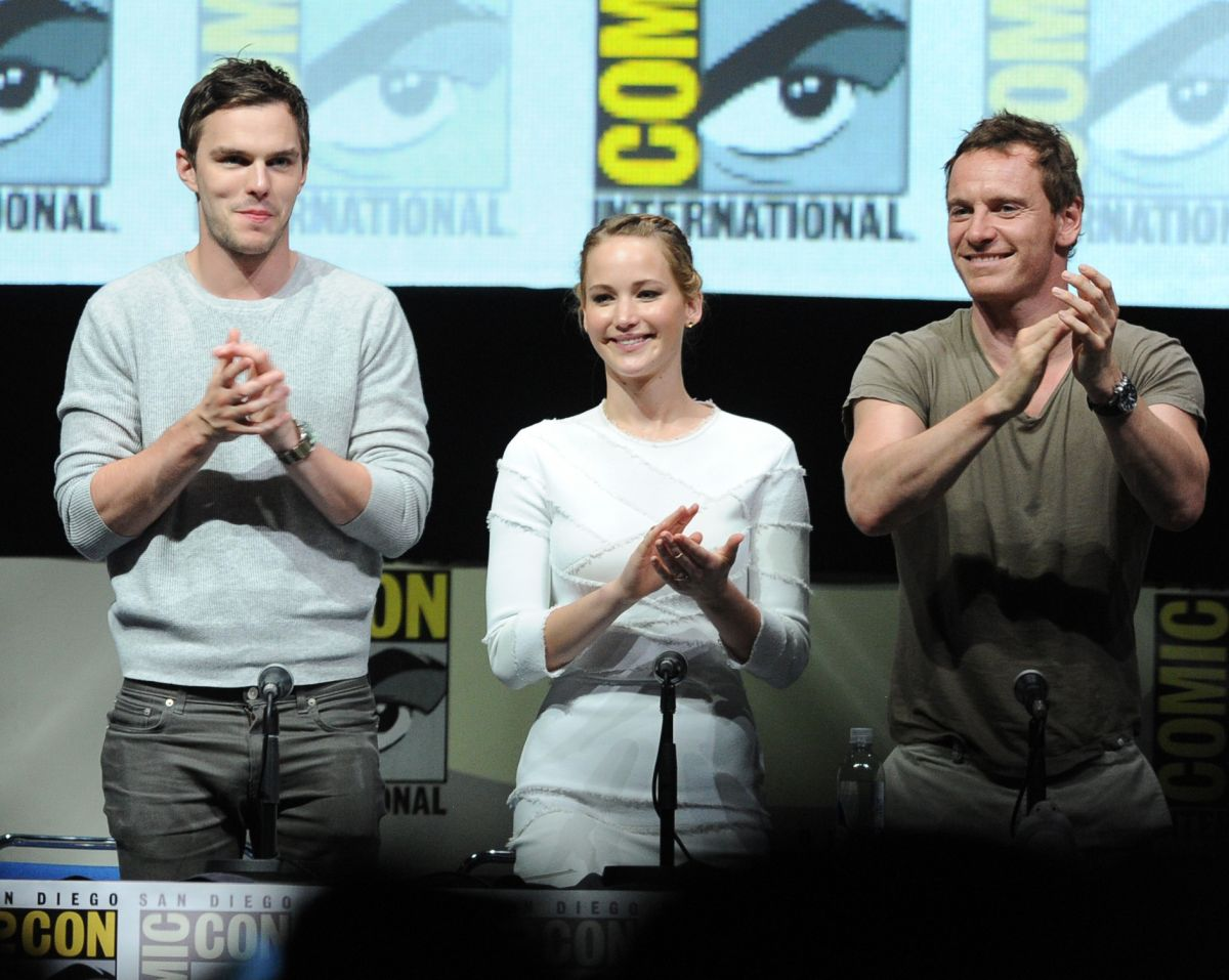 Jennifer Lawrence, Anna Paquin And Halle Berry During 2013 Comic-Con In San Diego