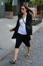 Jessica Biel Out In Soho
