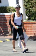 Jillian Michaels At Fred Segal In West Hollywood