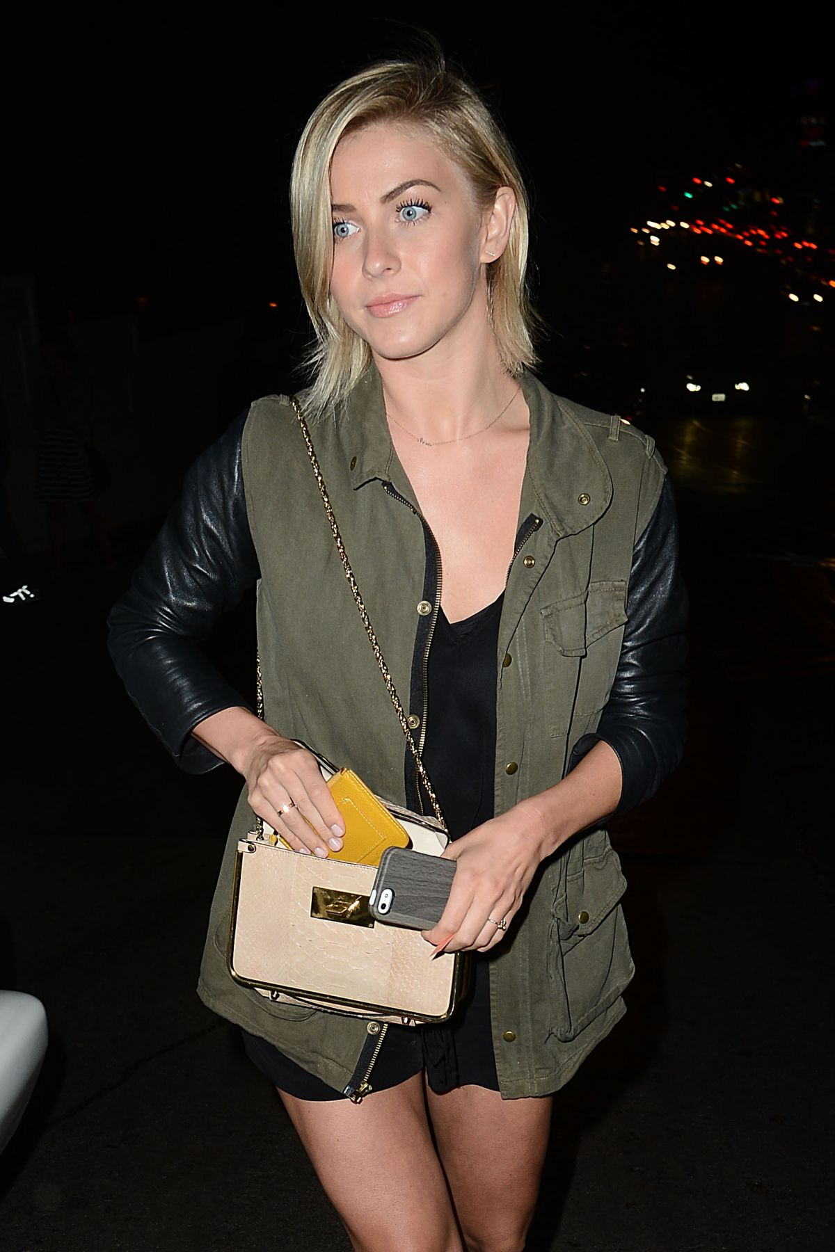 Julianne Hough Leaving The Chateau Marmont In Hollywood