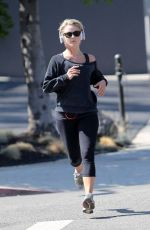 Julianne Hough Out Jogging In West Hollywood