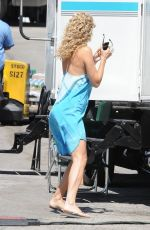 Kate Hudson On The Set Of Wish I Was Here In LA