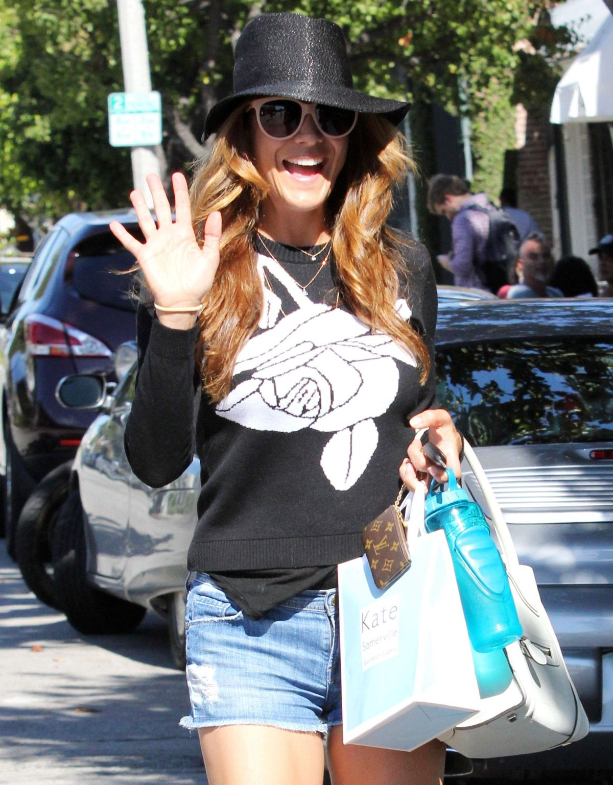 Kate Walsh Out And About In Hollywood