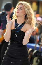 Kimberly Perry Performing On The Today Show In NYC