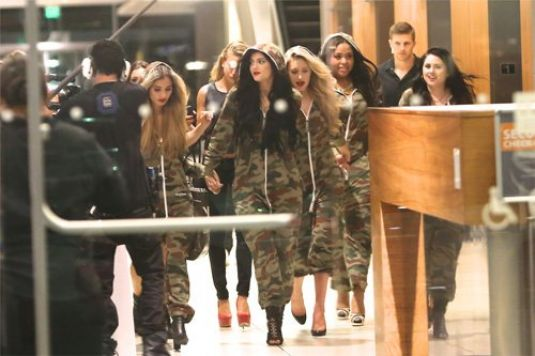Kylie Jenner Arrives At Her 16th B-Day Party In Camouflage In LA