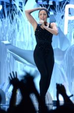 Lady Gaga on Stage at Vide Music Awards in New York