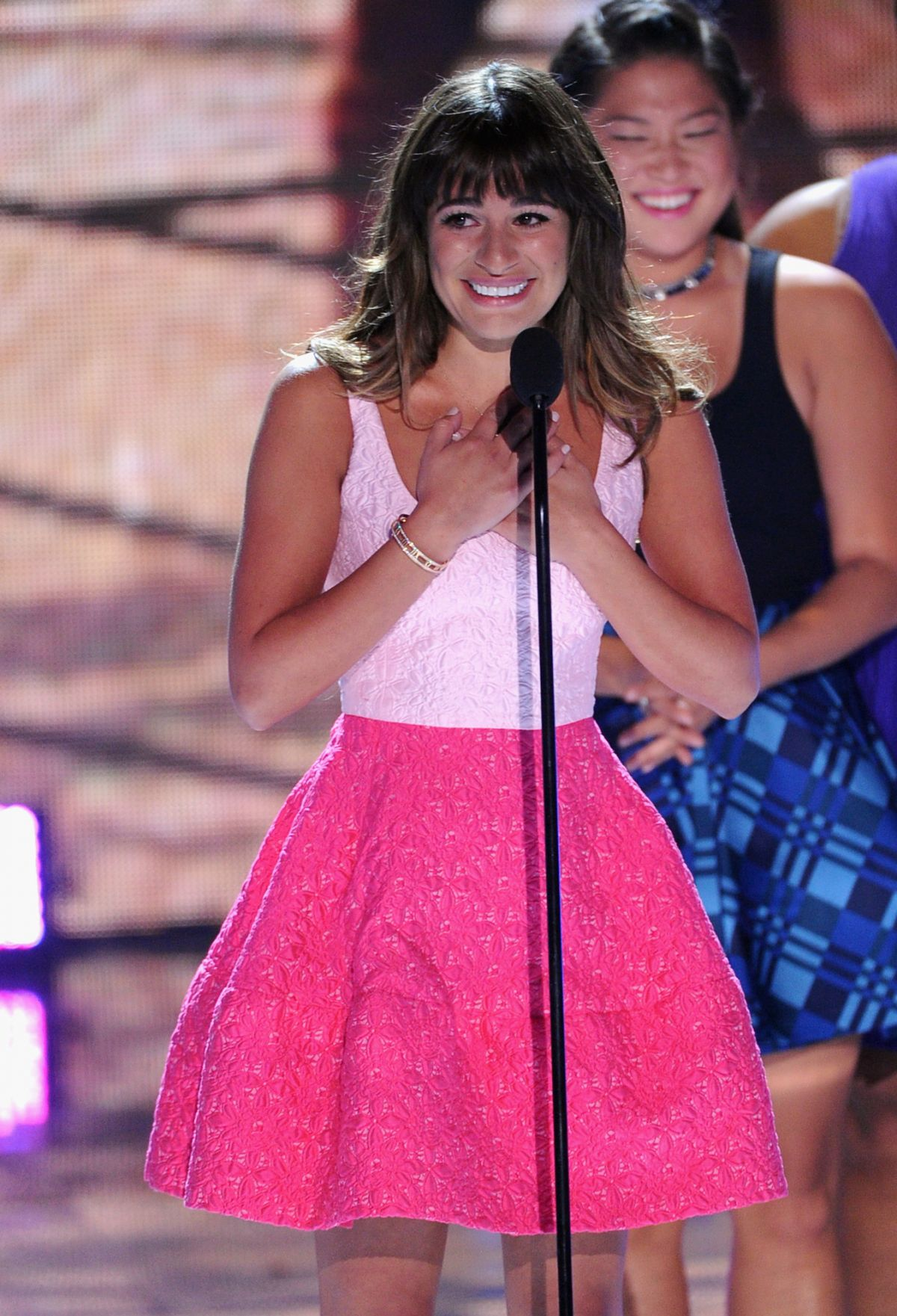 Lea Michelle At 2013 Teen Choice Awards In Universal City