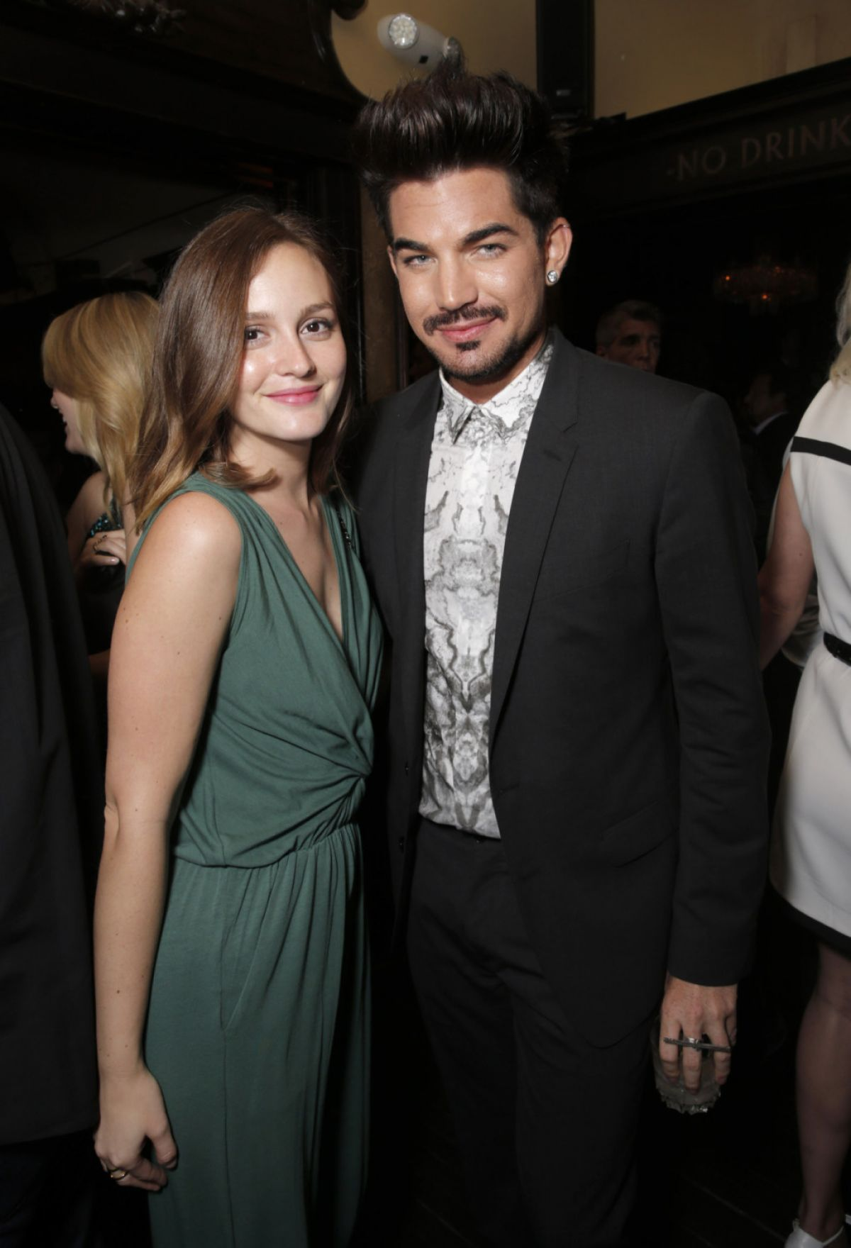 Leighton Meester At The Lovelace After Party In LA