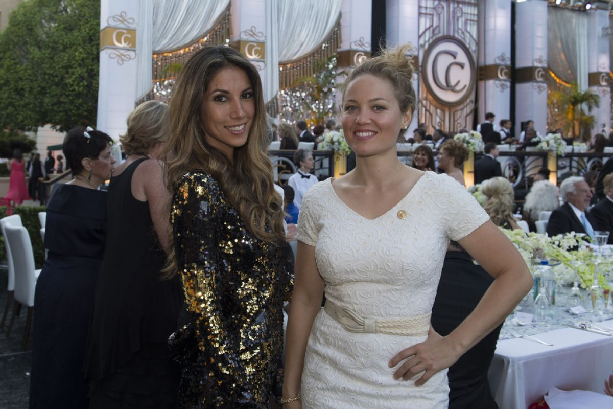 Leilani Dowding Erika Christensen At Church Of Scientology