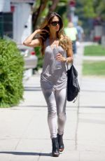 Leilani Dowding Out In Sherman Oaks
