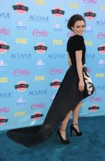 Lily Collins At Teen Choice Awards In Universal City