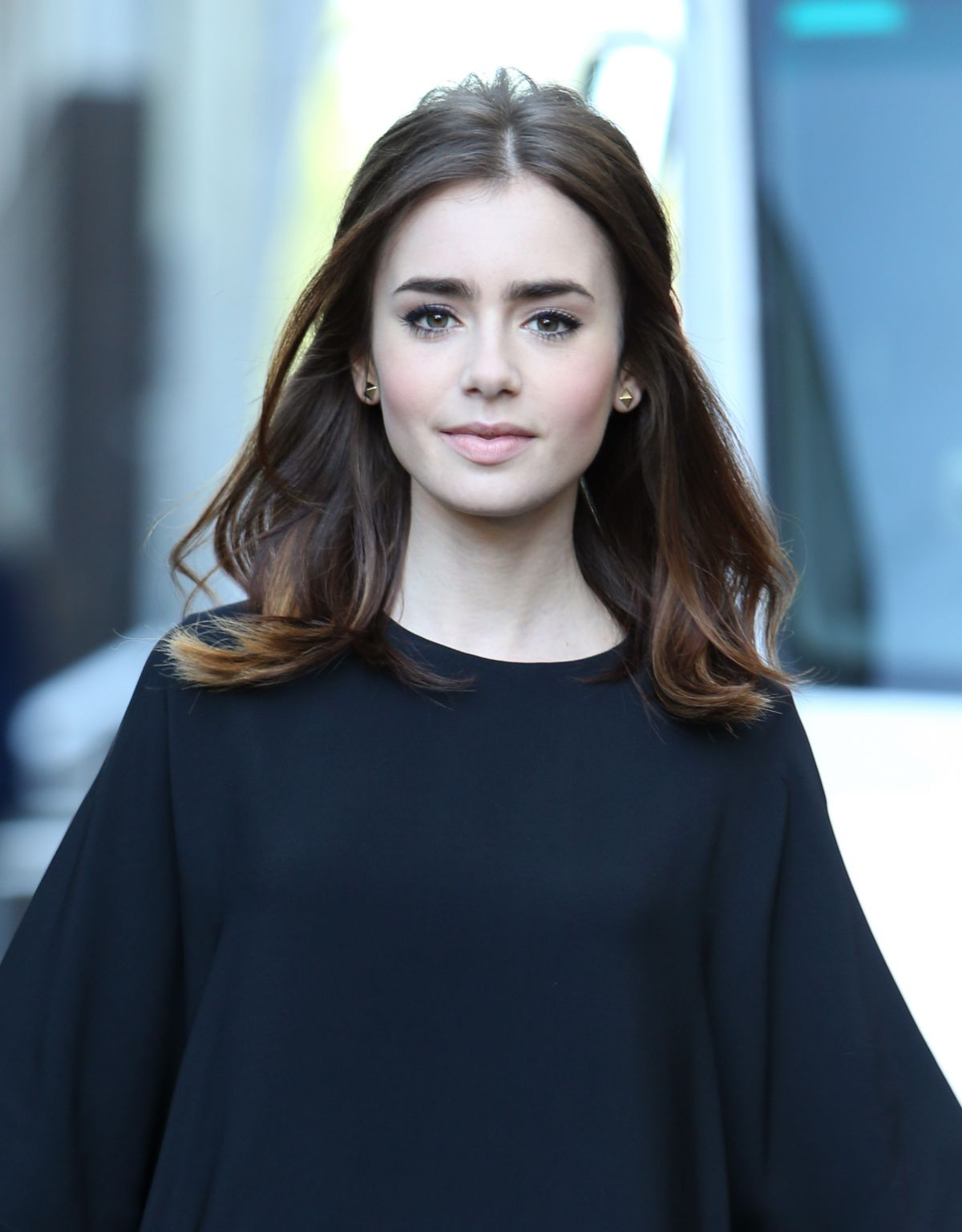 Lily Collins At The IT...