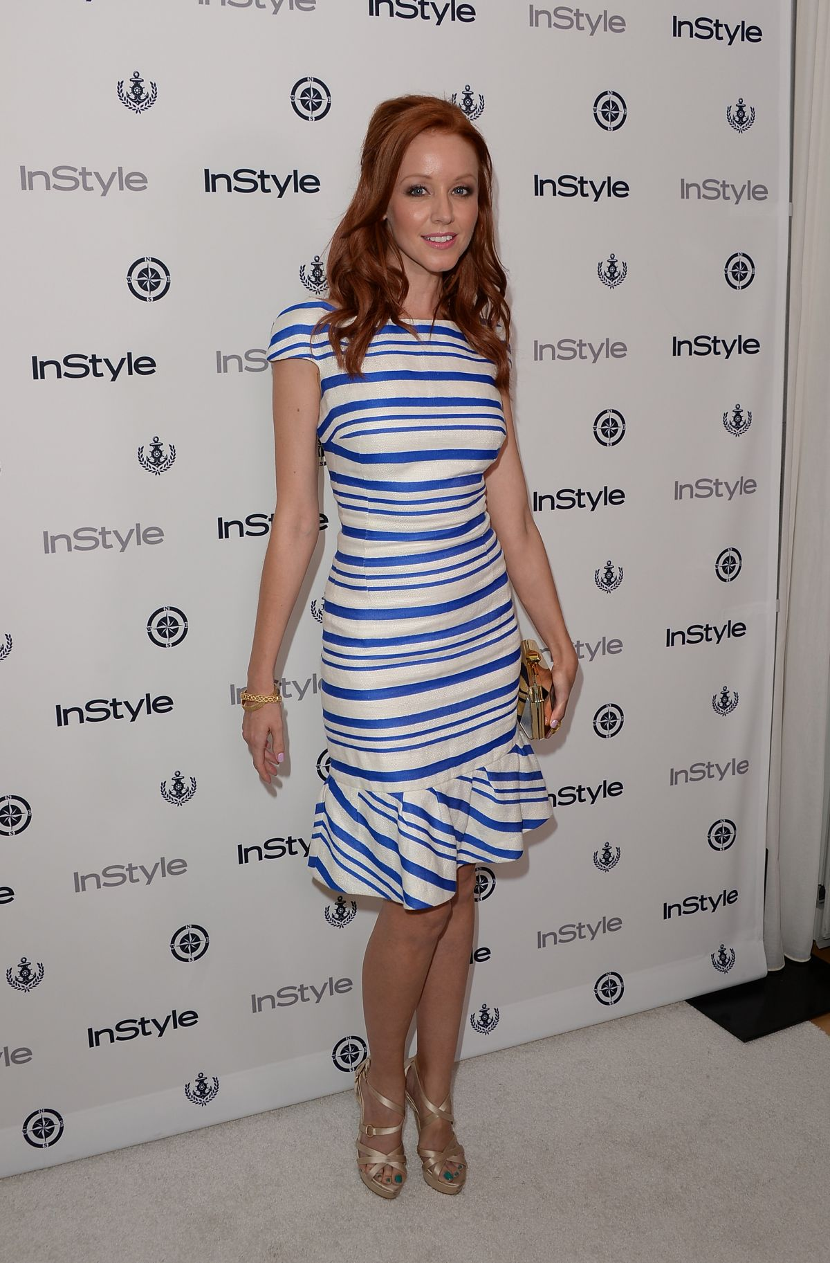 Lindy booth at the instyle summer soiree in west hollywood celebzz