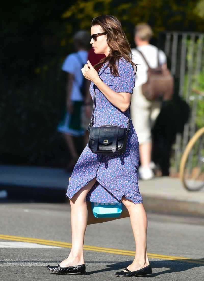 Liv Tyler Heading Home After Shopping In Soho In New York