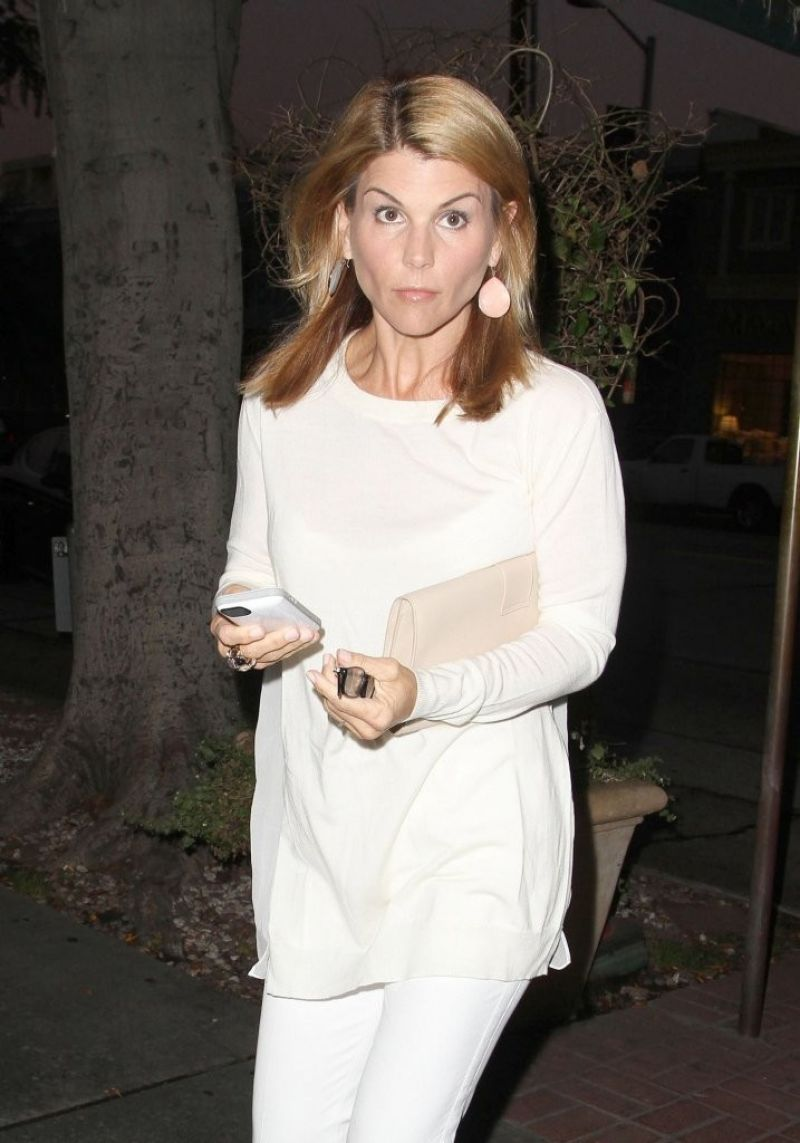 Lori Loughlin At Madeo In West Hollywood