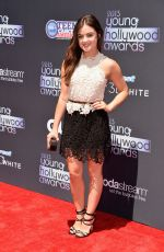 Lucy Hale 2013 Young Hollywood Awards In Santa Monica