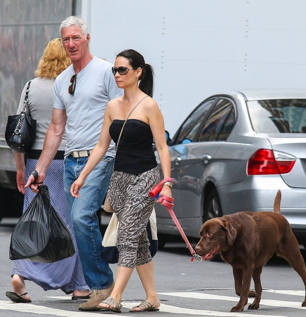 Lucy Liu Out In NYC