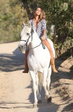 medium quality] leilani dowding - riding a horse in santa barbara 8/19/13