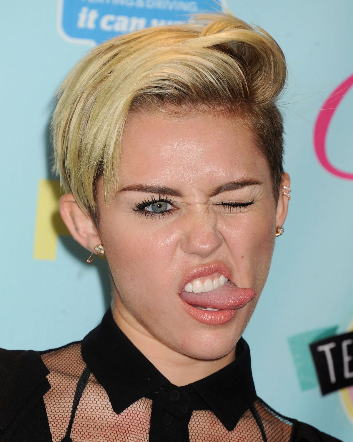 Miley Cyrus At 2013 Teen Choice Awards In Universal City ... Miley Cyrus