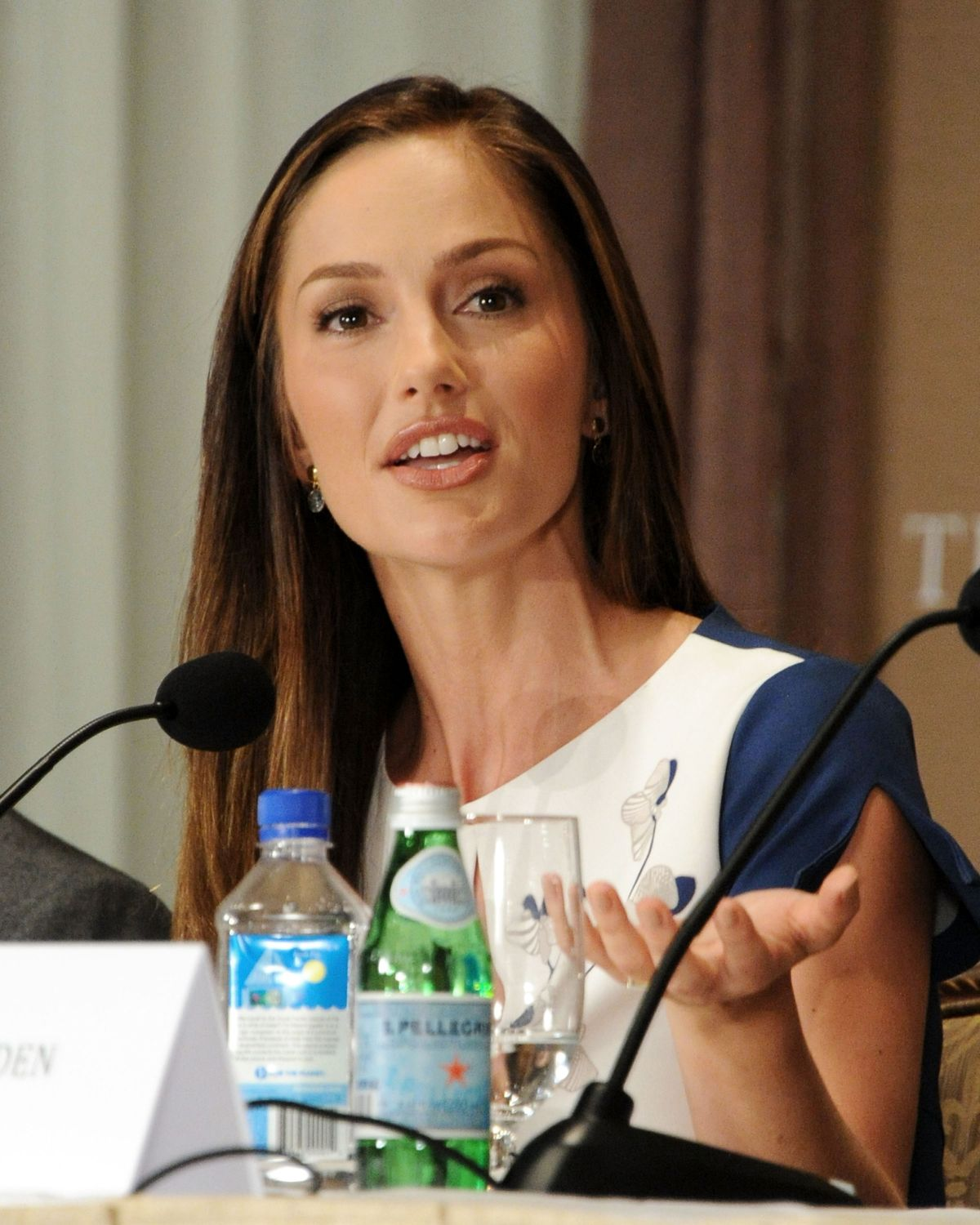 Minka Kelly At The Butler Press Conference In NYC