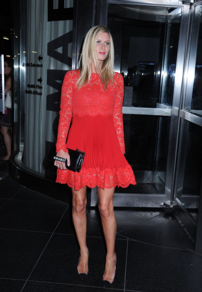 Nicky Hilton At The Jobs Premiere In NYC