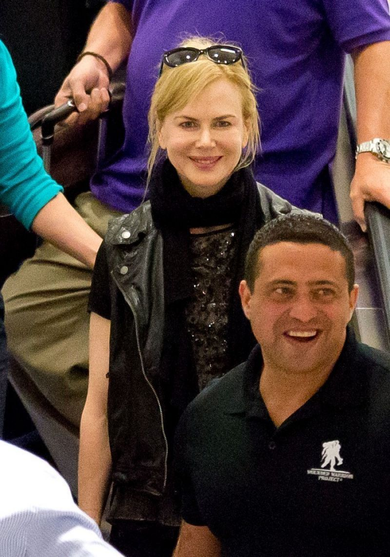 Nicole Kidman At LAX Airport