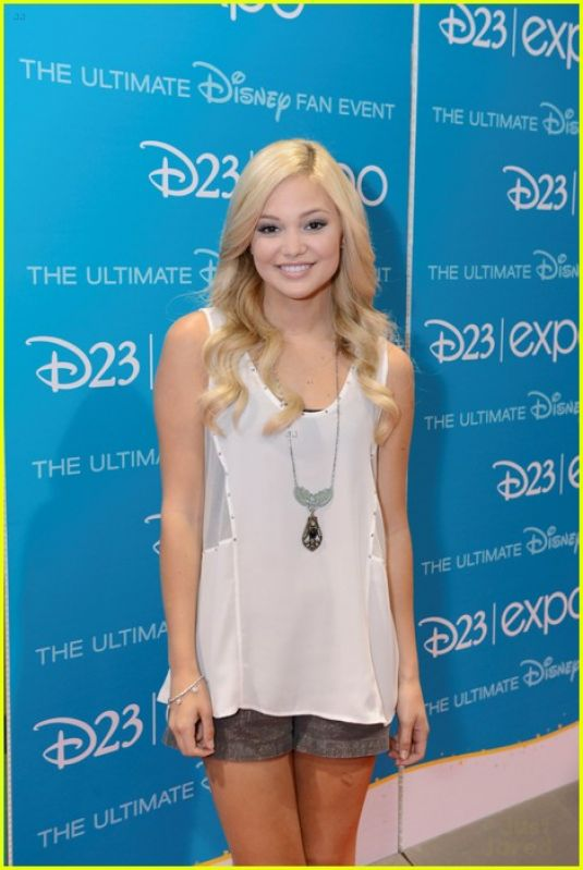 Olivia Holt At The 4th Annual Disney d23 Expo In Anaheim