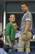 Olivia Wilde At 2013 US Open Opening Night In NYC