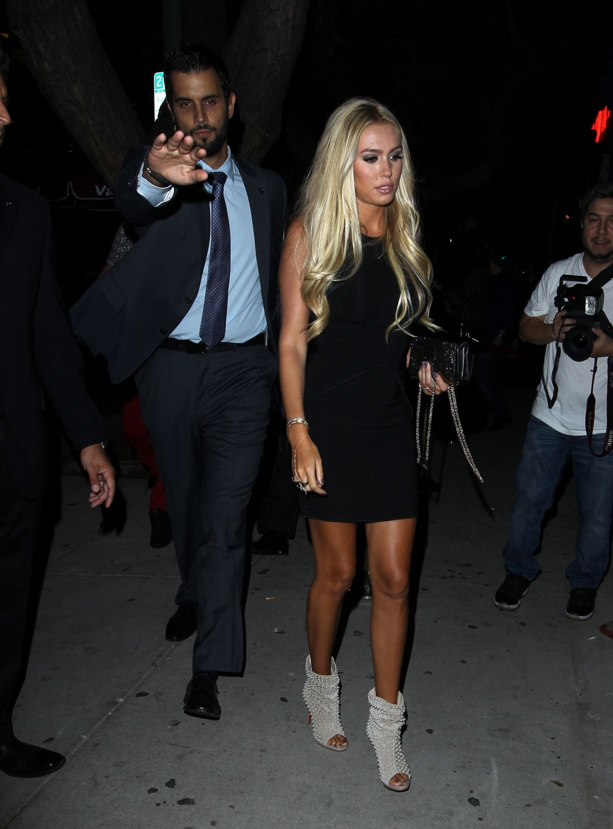 Petra Ecclestone Seen For A Night Out At Hooray Henry