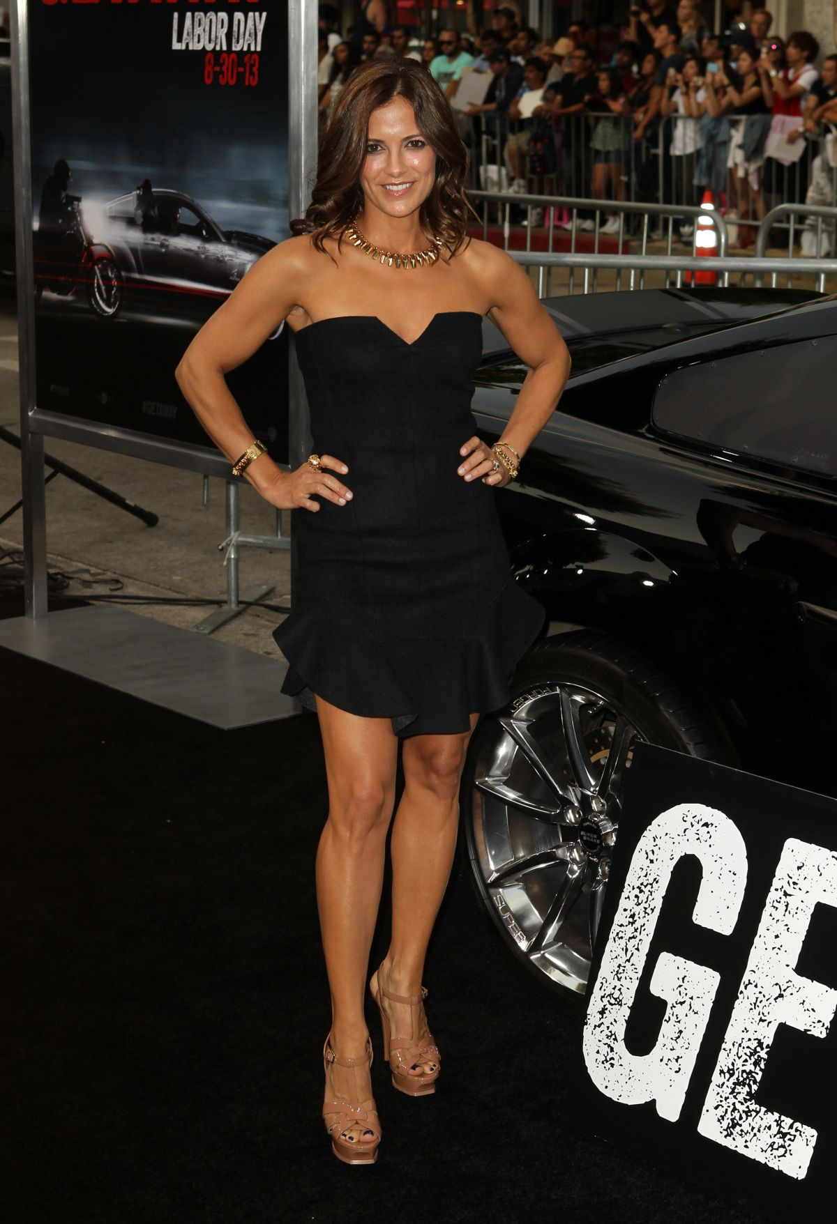 Rebecca Budig At The Getaway Premiere In LA