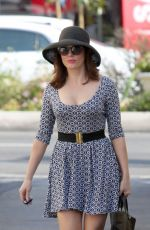 Rose McGowan Out In LA