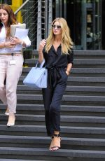 Rosie Huntington Out In London