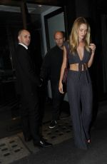 Rosie Huntington Whiteley Out For Dinner At Cecconi