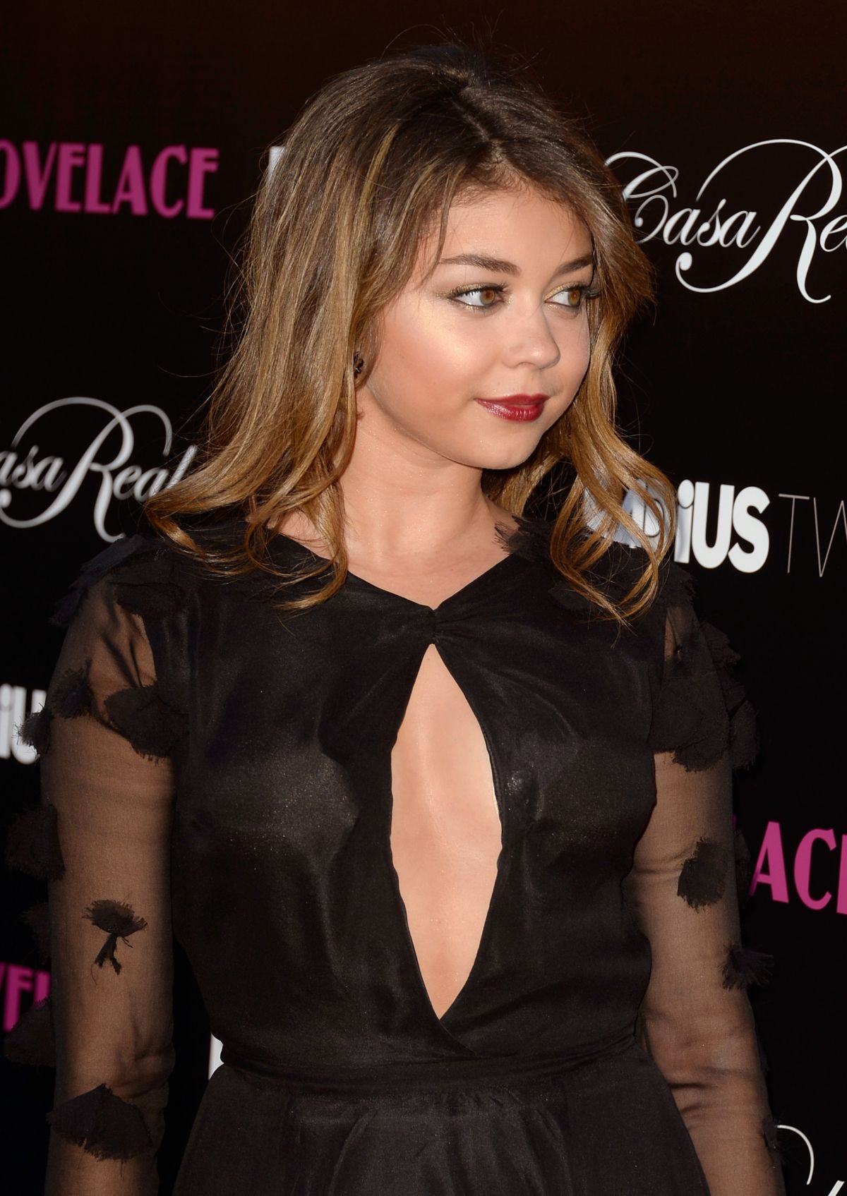 Sarah Hyland At Lovelace premiere In Hoolywood