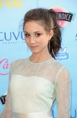 Troian Bellisario At Teen Choice Awards In Universal City