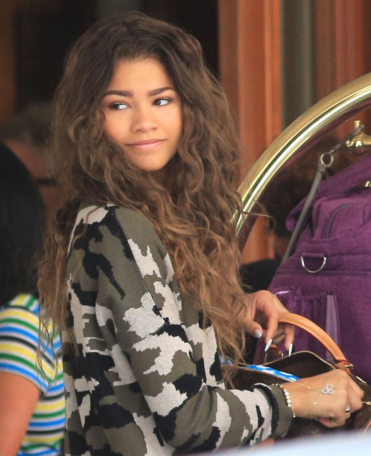 Zendaya Coleman Out In Vancouver