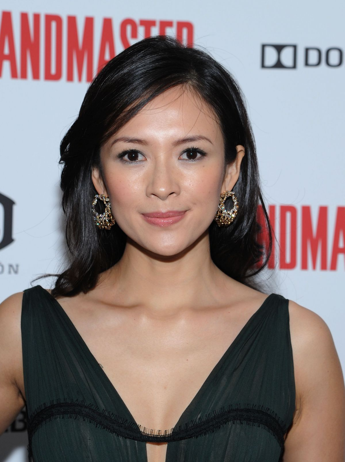 Ziyi Zhang At The Grandmaster Screening In NYC